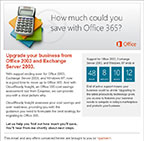 OFFICE 365 MARKETING CAMPAIGN