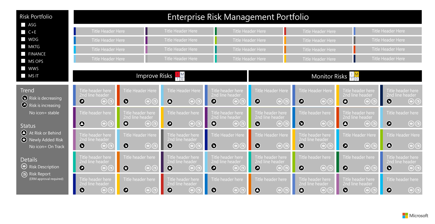 Enterprise Risk Management Portfolio