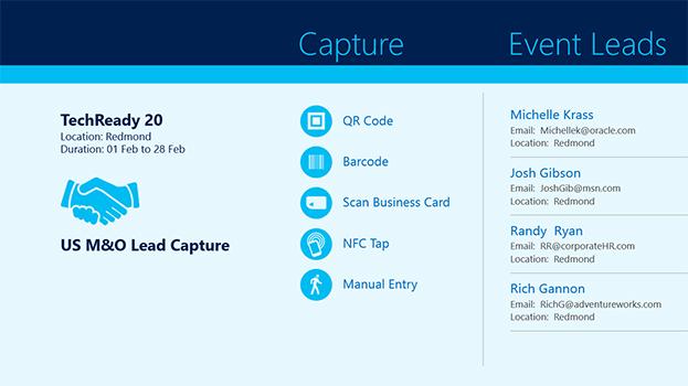 US M&O Lead Capture App