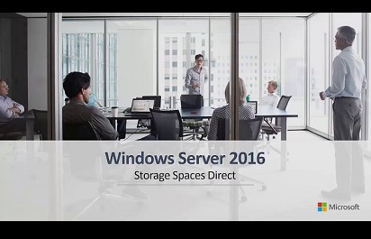 OEM TV: Windows Server 2016 Storage Spaces Direct