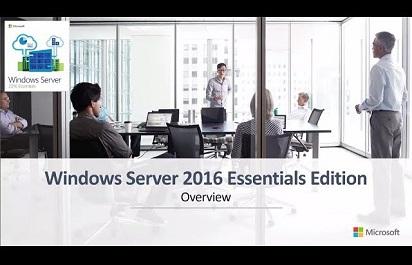 OEM TV: Windows Server 2016 Essentials Cloud Enablement